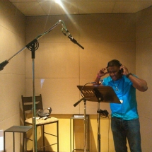 Simeon Doing Chicago Fire Voice over